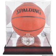 Fanatics Authentic Villanova Wildcats 2016 NCAA Men's Basketball National Champions Logo Mahogany Antique Finish Basketball Disp