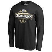 Men's Fanatics Branded Black Colorado Buffaloes 2016 Pac-12 South Division Champions Long Sleeve T-Shirt
