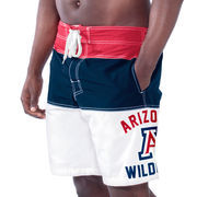 Men's Navy Blue Arizona Wildcats Tommy John Boardshorts