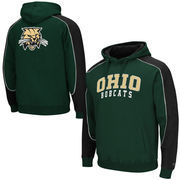 Mens Ohio Bobcats Green Thriller Pullover Hoodie