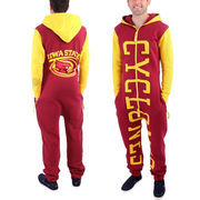 Iowa State Cyclones Cardinal Zoopless Full-Zip Adult Jumpsuit