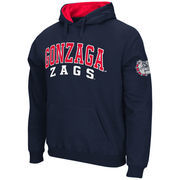 Men's Stadium Athletic Navy Gonzaga Bulldogs Double Arches Pullover Hoodie