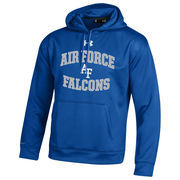Men's Under Armour Royal Air Force Falcons MVP Logo Pullover Hoodie