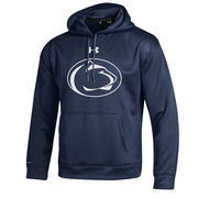 Men's Under Armour Navy Penn State Nittany Lions Big Logo Storm Performance Pullover Hoodie