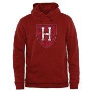Crimson Harvard Crimson Classic Primary Pullover Hoodie