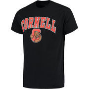 Men's Black Cornell Big Red Campus T-Shirt
