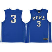 Youth Nike #3 Royal Duke Blue Devils Replica Basketball Jersey