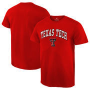 Men's Fanatics Branded Red Texas Tech Red Raiders Campus T-Shirt