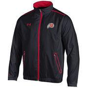 Men's Under Armour Black Utah Utes Impulse Lightweight Performance Jacket