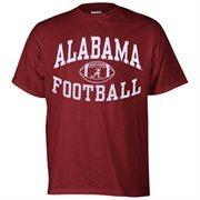 Alabama Crimson Tide Reversal Football T-Shirt - Crimson
