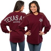 Women's Maroon Texas A&M Aggies Sport Mesh Spirit Jersey