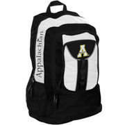 Appalachian State Mountaineers Colossus Backpack - White/Black