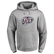 Men's Ash UTEP Miners Classic Primary Logo Pullover Hoodie