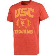 Men's Cardinal USC Trojans Archie Tri-Blend T-Shirt