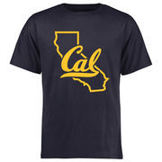 Men's Navy Cal Bears College Tradition State Short Sleeve T-Shirt