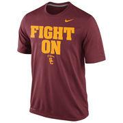 Men's Nike Cardinal USC Trojans Legend Authentic Local Performance T-Shirt