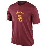 Nike USC Trojans Logo Legend Dri-FIT Performance T-Shirt - Cardinal