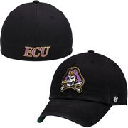 Mens East Carolina Pirates '47 Brand Black New Franchise Fitted Hat