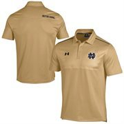 Notre Dame Fighting Irish Under Armour Ultimate Coaches Sideline Polo - Yellow