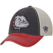 Men's Top of the World Navy/Red Gonzaga Bulldogs Offroad Trucker Hat