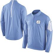 Men's Nike Carolina Blue North Carolina Tar Heels 2015 Football Coaches Sideline Half-Zip Wind Jacket