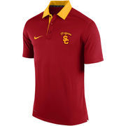 Men's Nike Crimson USC Trojans 2015 Coaches Sideline Dri-FIT Polo