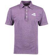 Men's Original Retro Brand Heather Purple TCU Horned Frogs Vintage Tri-Blend Polo