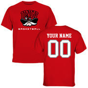 Men's Red UNLV Rebels Personalized Basketball T-Shirt