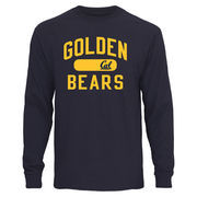 Men's Navy Cal Bears Athletic Issued Long Sleeve T-Shirt