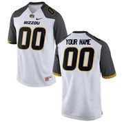 Mens Missouri Tigers Nike White Custom Replica Football Jersey