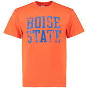 Men's Orange Boise State Broncos Straight Out T-Shirt