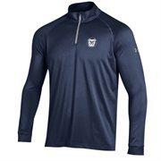 Men's Under Armour Navy Butler Bulldogs 1/4 Zip Long Sleeve Tech T-Shirt