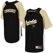 Youth Black Vanderbilt Commodores Dugout Baseball Jersey