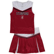 Girls Youth Colosseum Cardinal Stanford Cardinal Aerial Cheer Set