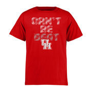 Youth Red Houston Cougars Can't Be Beat T-Shirt