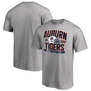 Men's Fanatics Branded Heather Gray Auburn Tigers 2017 Sugar Bowl Bound Playbook T-Shirt