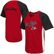 Men's Fresno State Bulldogs Cardinal Dugout Baseball Jersey