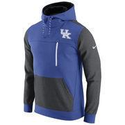 Men's Nike Royal/Charcoal Kentucky Wildcats AV15 Fleece Pullover Hoodie
