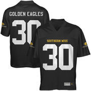 Southern Miss Golden Eagles #30 Fan Football Jersey - Black