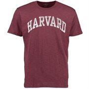 Men's '47 Brand Maroon Harvard Crimson Vintage Arch Scrum T-Shirt