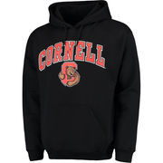 Men's Fanatics Branded Black Cornell Big Red Campus Pullover Hoodie