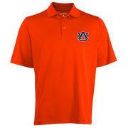 Mens Auburn Tigers Antigua Orange Logo Grande Pique Polo