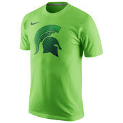 Men's Nike Green Michigan State Spartans Disruption T-Shirt