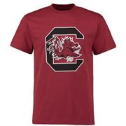 Men's Cardinal South Carolina Gamecocks Core Logo T-shirt