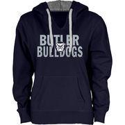 Women's Butler Bulldogs Navy Blue Likeness Hoodie
