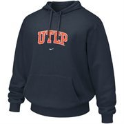 Nike UTEP Miners Navy Blue Vertical Arch Hoodie Sweatshirt