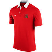 Men's Nike Red Cornell Big Red 2015 Elite Coaches Performance Polo