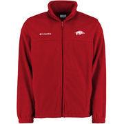 Mens Columbia Cardinal Arkansas Razorbacks Flanker II Jacket