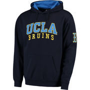 Men's Colosseum Navy UCLA Bruins Double Arch Pullover Hoodie
