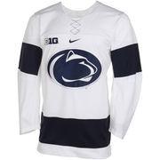 Nike Penn State Nittany Lions Twill Hockey Jersey - White